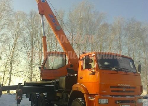 Автокран КАМАЗ КС-55713 5к-1