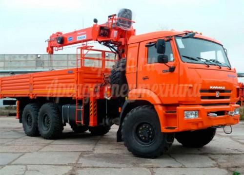Автокран Kanglim 1256G-II на КАМАЗ-43118