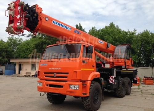 Автокран Клинцы КС-55713-1К-4 (25 тонн)
